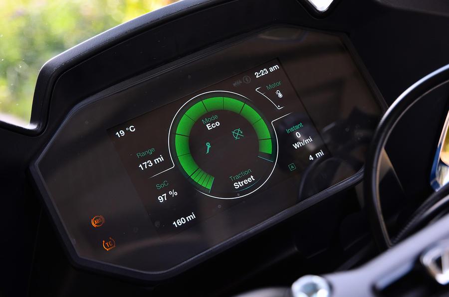 Electric Zero Motorcycles SR/S