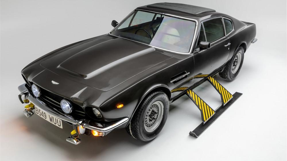 James Bond Car Exhibit