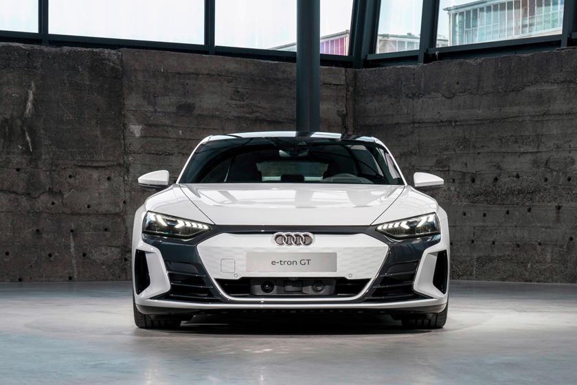 Audi e-tron GT accessory camouflage