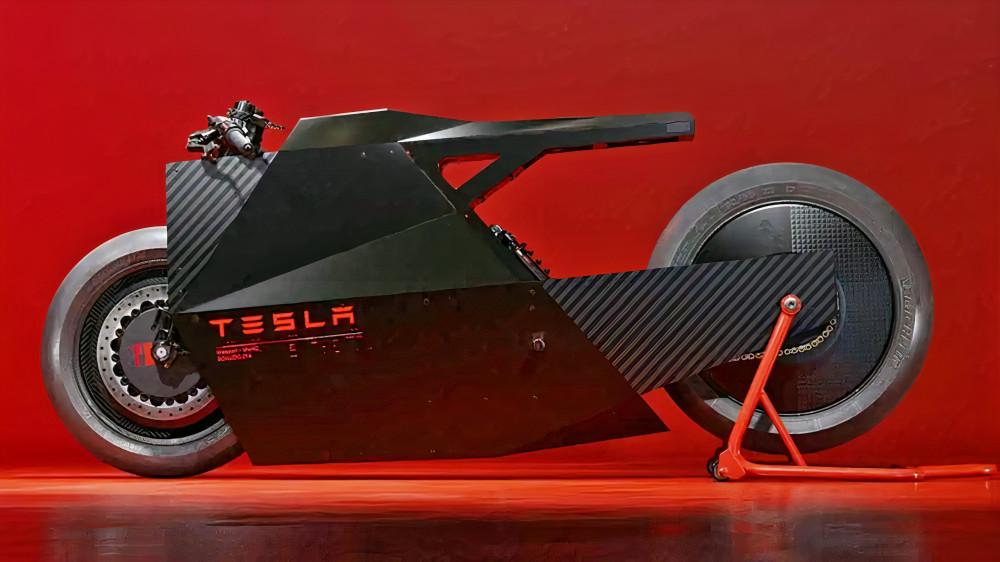 Tesla Electric Motorcycle Concept